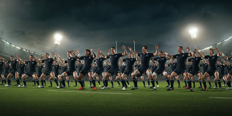 La Haka degli All Blacks